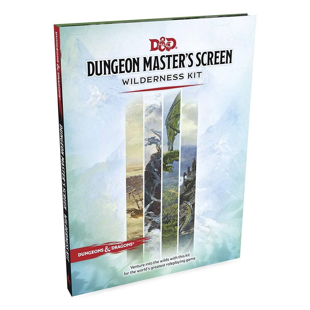 Dungeons & Dragons RPG Dungeon Master's Screen Wilderness Kit Anglická Wizards of the Coast