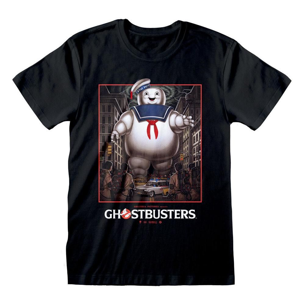 Ghostbusters Tričko Stay Puft Square Velikost L Heroes Inc