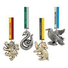 Harry Potter Tree Ornaments Bradavice Mascots 4-Pack
