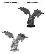 Pathfinder Battles Deep Cuts Unpainted Miniature Silver Dragon Case (6)
