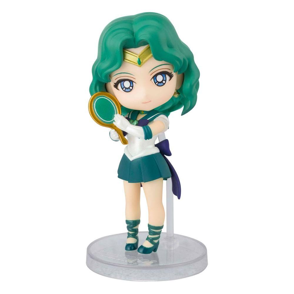 Sailor Moon Eternal Figuarts mini Akční Figure Super Sailor Neptune (Eternal Edition) 9 cm Bandai Tamashii Nations