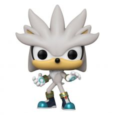 Sonic the Hedgehog POP! Games vinylová Figure Sonic 30th - Silver the Hedgehog 9 cm