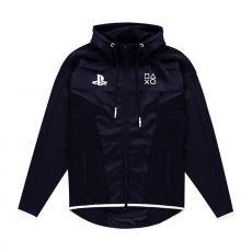 Sony PlayStation Hooded Mikina Black & White Teq Velikost M