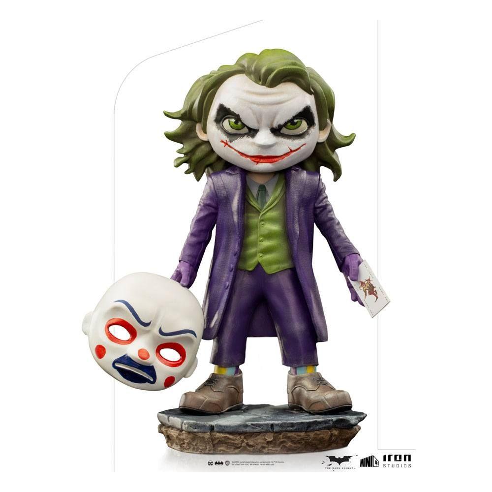 The Dark Knight Mini Co. PVC Figure The Joker 15 cm Iron Studios