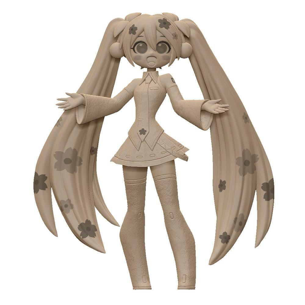 Vocaloid PVC Soška Sakura Miku CartoonY 16 cm Furyu