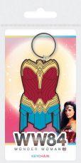 Wonder Woman 1984 Gumový Přívěsky na klíče Amazonian Armor 6 cm Case (10)