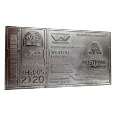 Alien Replika Nostromo Ticket Limited Edition (silver plated)