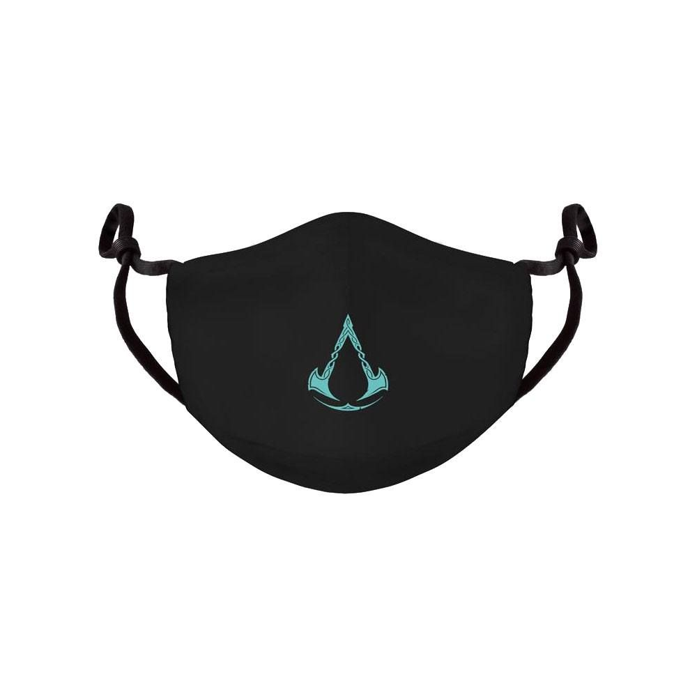 Assassins Creed Valhalla Face Mask Logo Difuzed