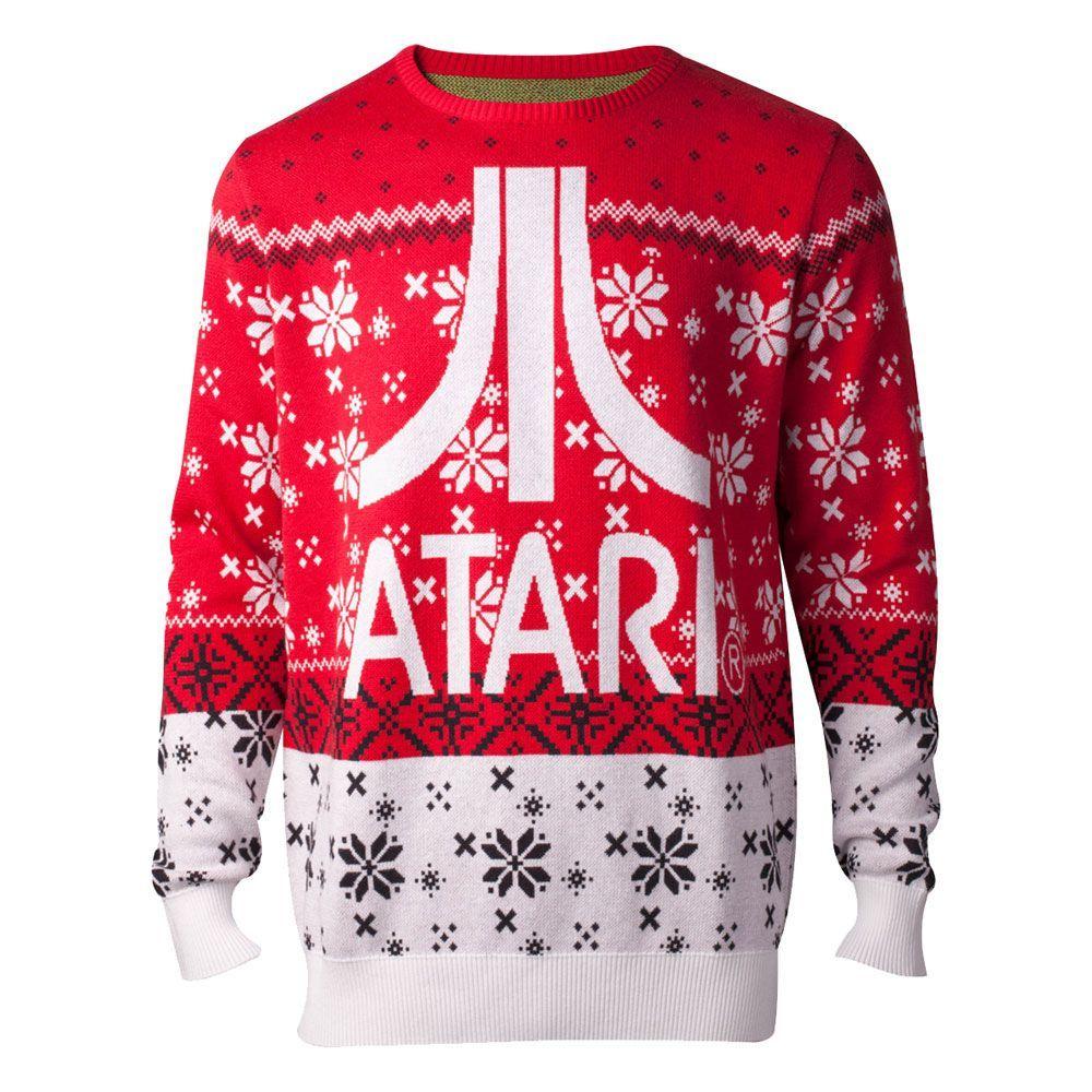 Atari Knitted Christmas Mikina Atari Logo Velikost M Difuzed