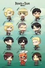 Attack on Titan Plakát Pack Chibi Characters 61 x 91 cm (5)