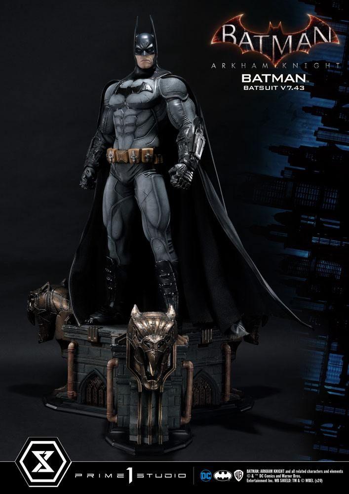 Batman Arkham Knight 1/3 Soška Batman Batsuit v7.43 86 cm Prime 1 Studio