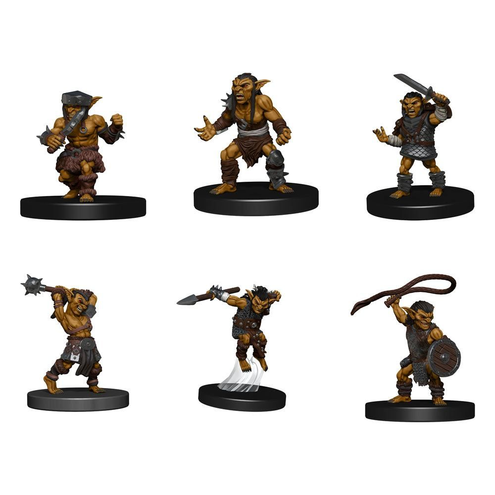 D&D Icons of the Realms: pre-painted Miniatures Goblin Warband Wizkids