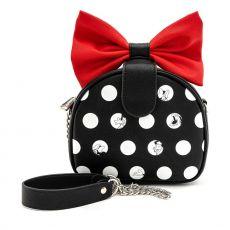 Disney by Loungefly Kabelka Minnie Polka Big Red Bow