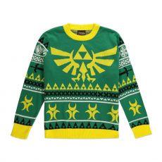 Legend of Zelda Knitted Christmas Mikina Hyrule Bright Velikost S