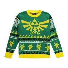 Legend of Zelda Knitted Christmas Mikina Hyrule Bright Velikost XL