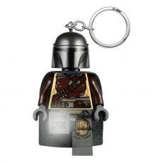 LEGO Star Wars The Mandalorian Light-Up Keychain Din Djarin 6 cm