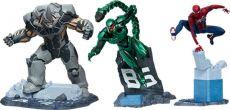 Marvel's Spider-Man Sochy 1/12 Spider-Man, Rhino & Scorpion 17 cm