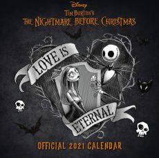 Nightmare before Christmas Kalendář 2021 Anglická Verze