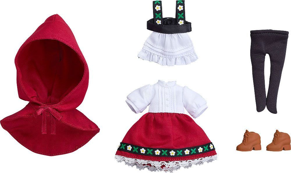 Original Character Parts for Nendoroid Doll Figures Outfit Set (Little Red Riding Hood: Rose) Good Smile Company
