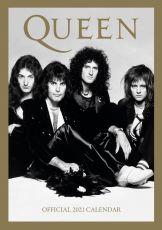 Queen A3 Kalendář 2021 Anglická Verze