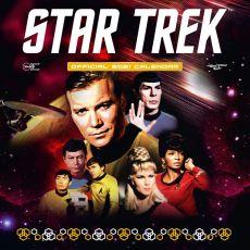 Star Trek TOS Kalendář 2021 Anglická Verze