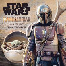 Star Wars The Mandalorian Kalendář 2021 Anglická Verze