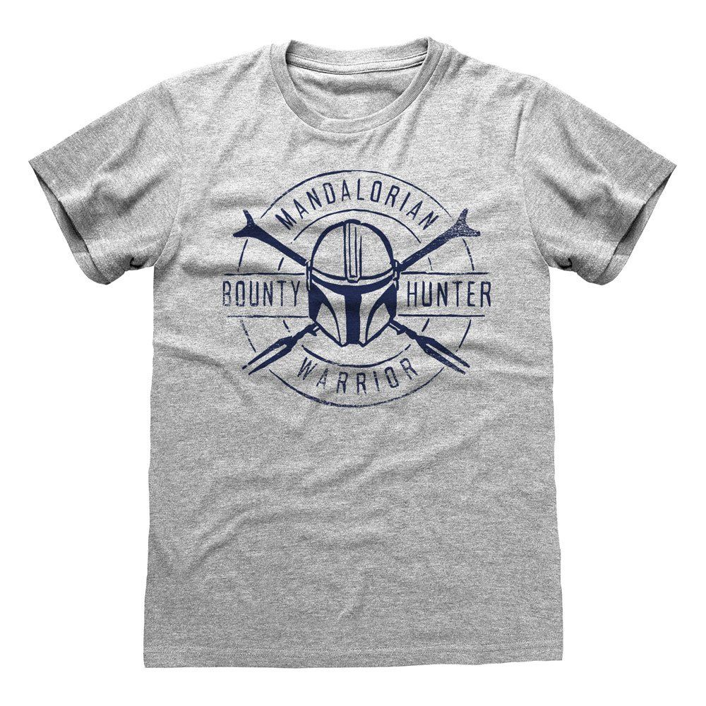 Star Wars The Mandalorian Tričko Warrior Emblem Velikost L Heroes Inc