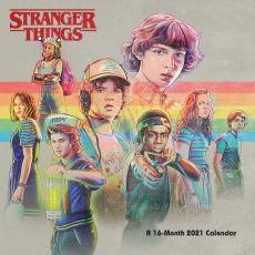 Stranger Things Kalendář 2021 Anglická Verze