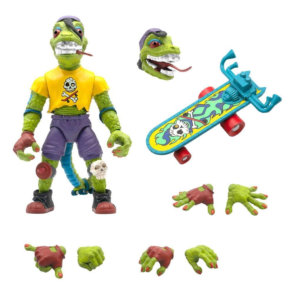 Teenage Mutant Ninja Turtles Ultimates Akční Figure Mondo Gecko 18 cm Super7