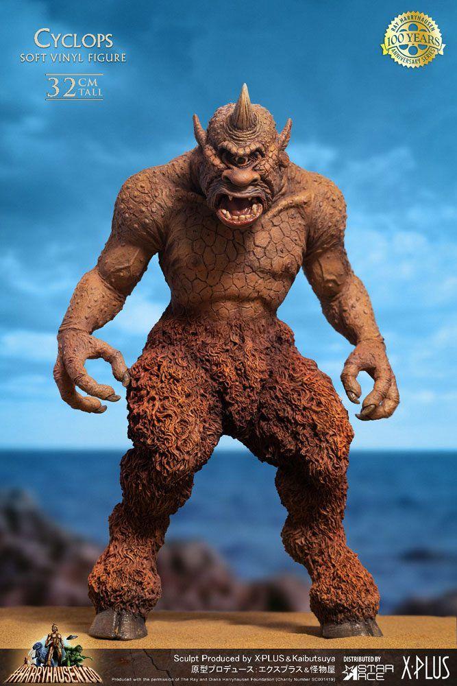 The 7th Voyage of Sinbad Soft vinylová Soška Ray Harryhausens Cyclops 32 cm Star Ace Toys