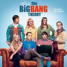 The Big Bang Theory Kalendář 2021 Anglická Verze