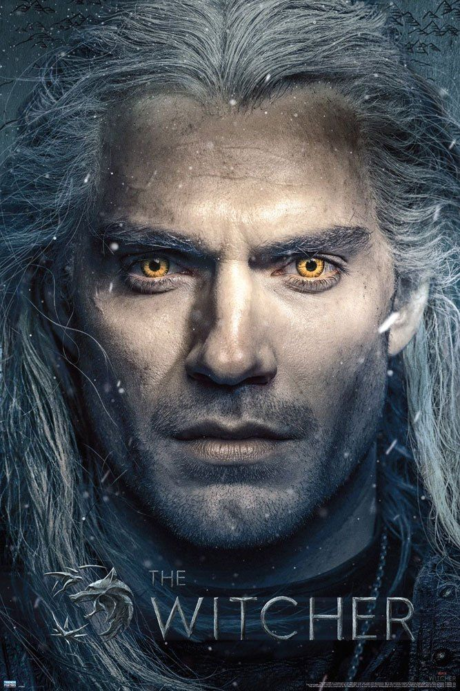 The Witcher Plakát Pack Close Up 61 x 91 cm (5) GB eye