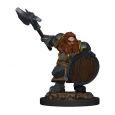 D&D Icons of the Realms Premium Miniature pre-painted Dwarf Fighter Male Case (6)