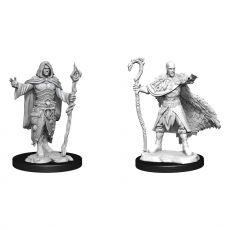 D&D Nolzur's Marvelous Miniatures Unpainted Miniatures Human Druid Male Case (6)