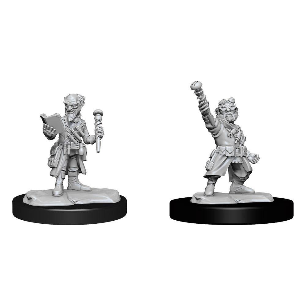 D&D Nolzur's Marvelous Miniatures Unpainted Miniatures Gnome Artificer Male Case (6) Wizkids