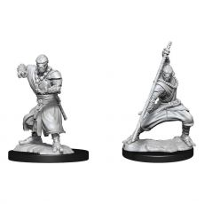 D&D Nolzur's Marvelous Miniatures Unpainted Miniatures Warforged Monk Case (6)