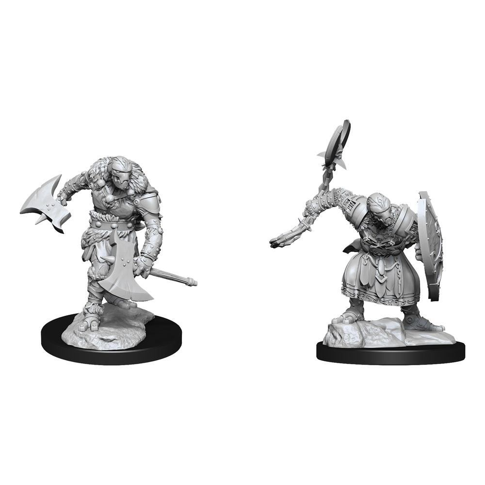 D&D Nolzur's Marvelous Miniatures Unpainted Miniatures Warforged Barbarian Case (6) Wizkids