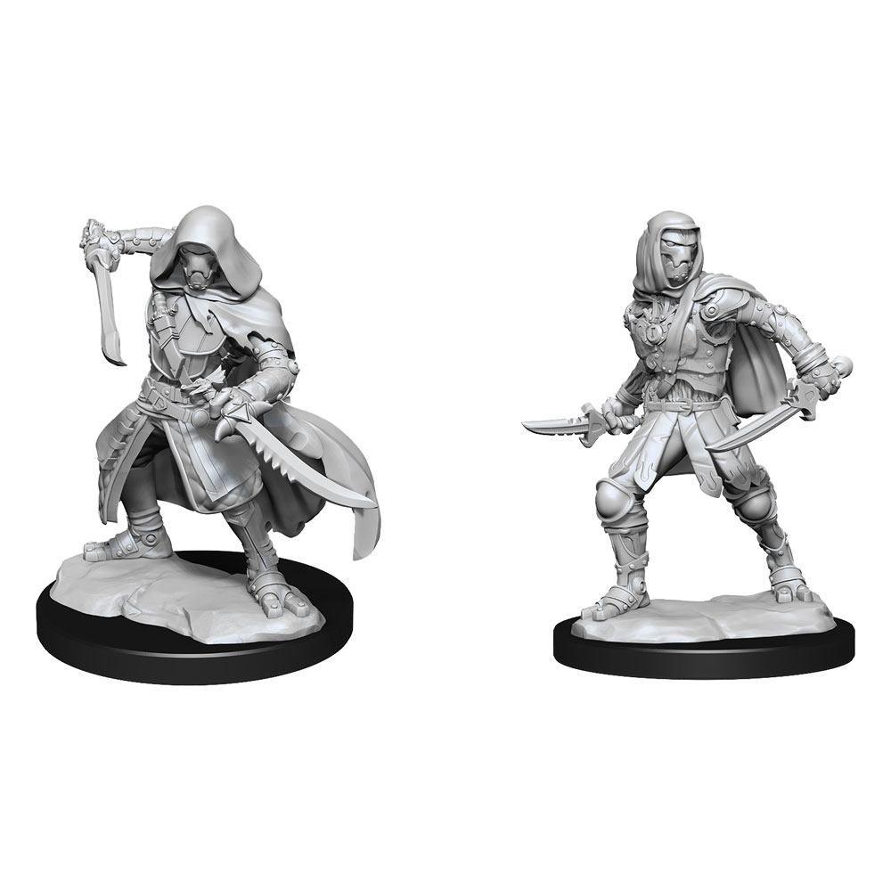 D&D Nolzur's Marvelous Miniatures Unpainted Miniatures Warforged Rogue Case (6) Wizkids