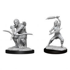 D&D Nolzur's Marvelous Miniatures Unpainted Miniatures Wildhunt Shifter Ranger Case (6)