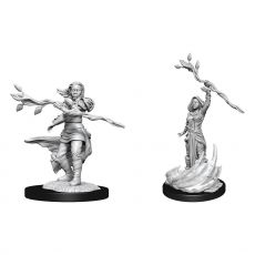 D&D Nolzur's Marvelous Miniatures Unpainted Miniatures Human Druid Female Case (6)