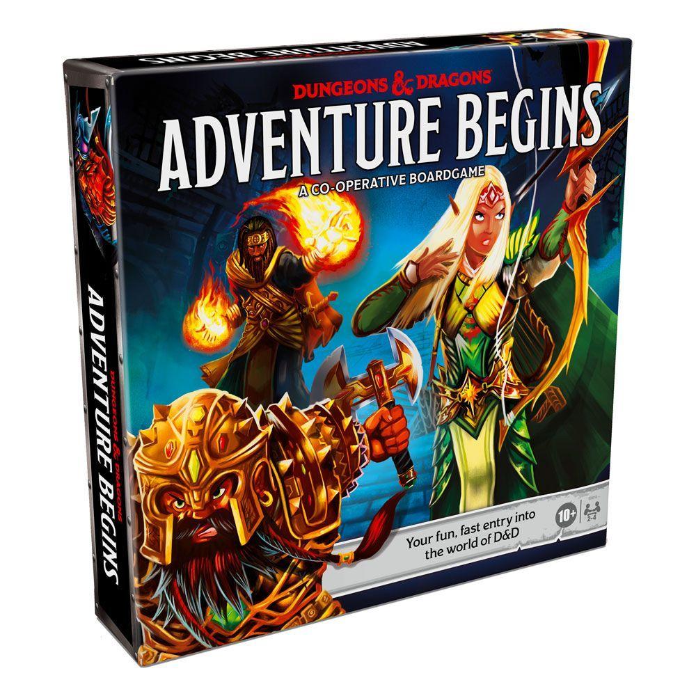 Dungeons & Dragons Board Game Adventure Begins Anglická Verze Hasbro