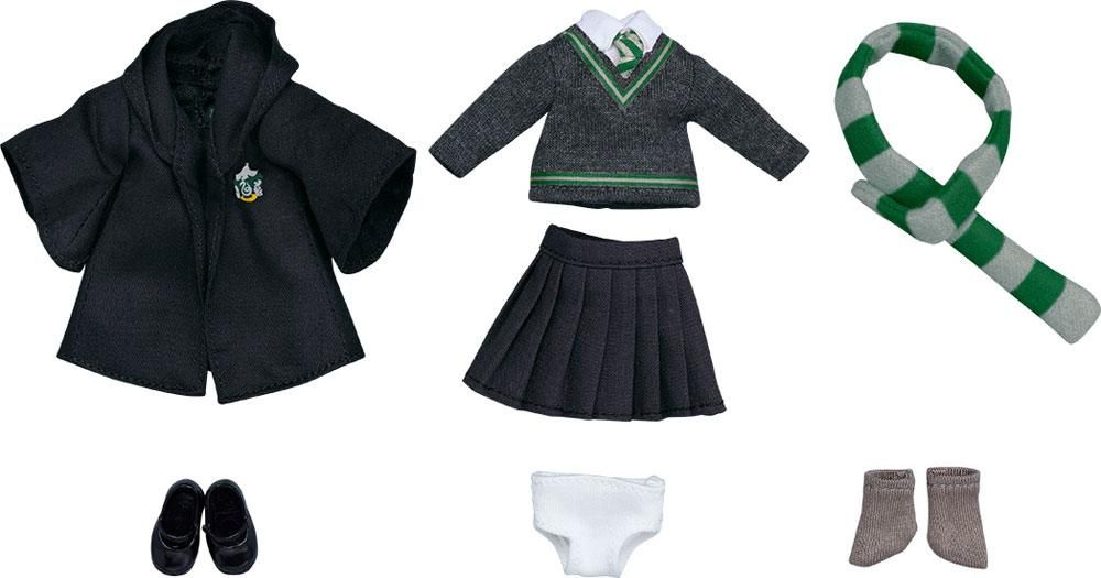 Harry Potter Parts for Nendoroid Doll Figures Outfit Set (Slytherin Uniform - Girl) Good Smile Company