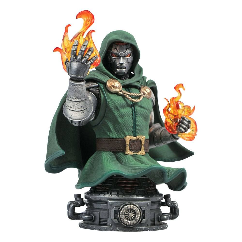 Marvel Comics Bysta Doctor Doom 15 cm Diamond Select