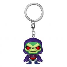 Masters of the Universe Pocket POP! vinylová Přívěsky na klíče 4 cm Skeletor w/Terror Claws Display (12)