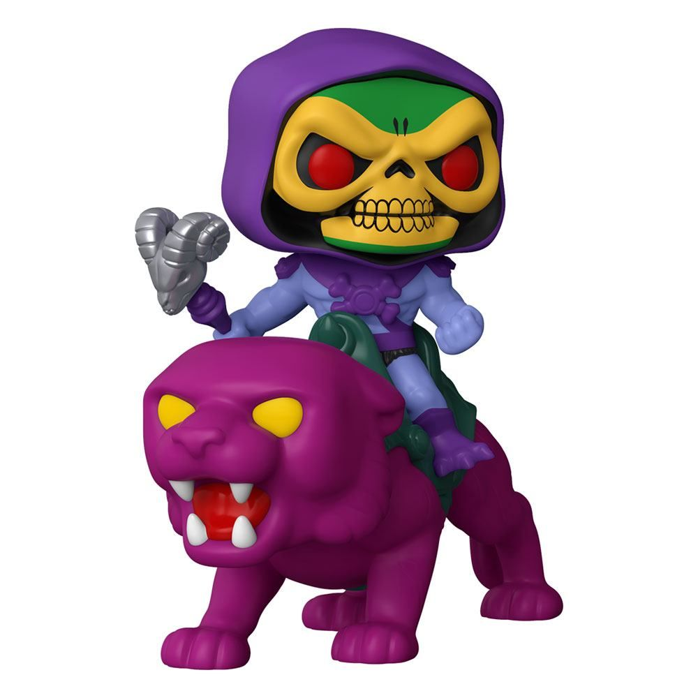 Masters of the Universe POP! Rides vinylová Figure Skeletor on Panthor 18 cm Funko