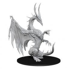 Pathfinder Battles Deep Cuts Unpainted Miniature Blue Dragon Case (6)