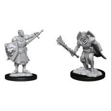 Pathfinder Battles Deep Cuts Unpainted Miniatures Human Champion Male Case (6)