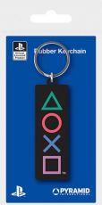 Sony PlayStation Gumový Přívěsky na klíče Shapes 6 cm Case (10)