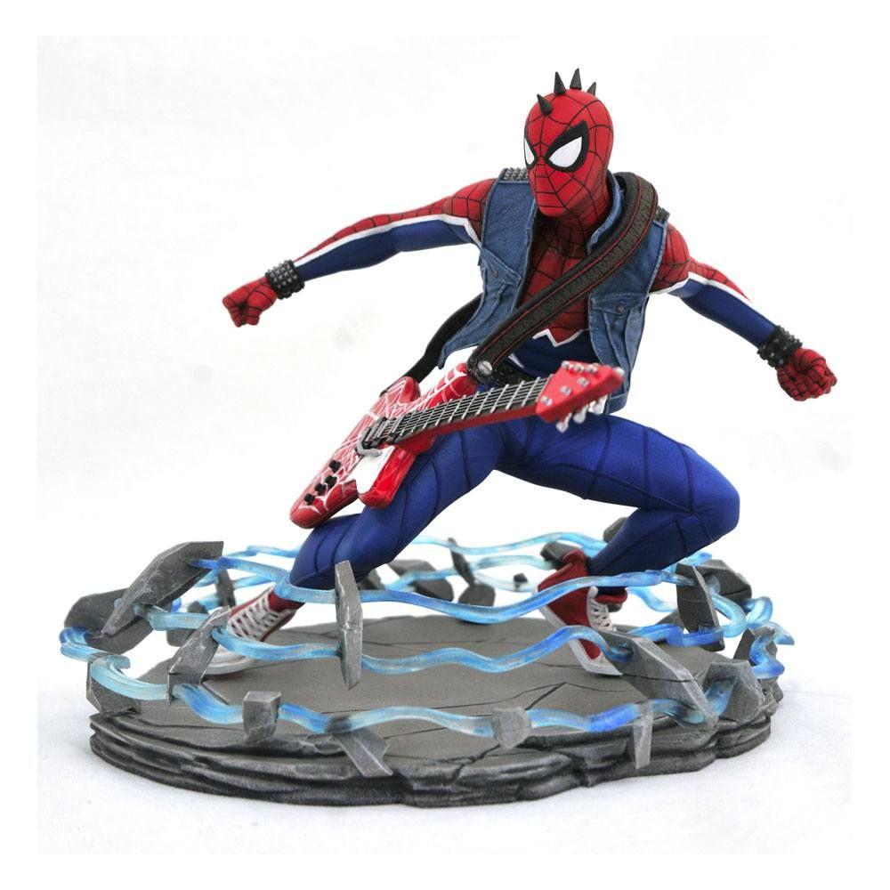 Spider-Man 2018 Marvel Video Game Gallery PVC Soška Spider-Punk 18 cm Diamond Select