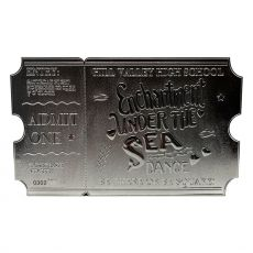 Back to the Future Replika Enchantment Under The Sea Ticket Limited Edition (silver plated)
